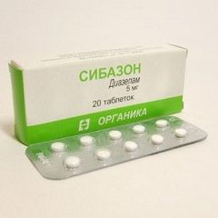 Сибазон в таблетках