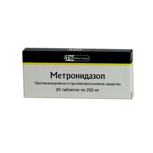 Метронидазол применяется при лечении гингивита