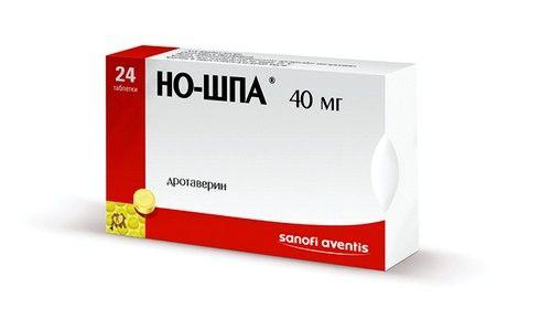 Для купирования болевого синдрома пациенту назначают Но-шпу или Платифиллин