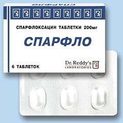 Таблетки Спарфло