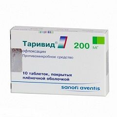 Таривид в таблетках