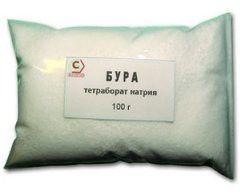Бура - тетраборат натрия