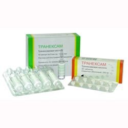 Транексам - препарат для предупреждения и остановки кровотечений