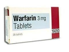Таблетки Варфарин в дозировке 3 мг