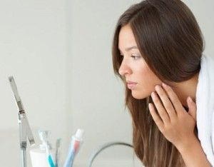 Значение прыщей на лице: расположение и описание