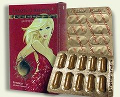 Форма выпуска Золотого шарика - таблетки