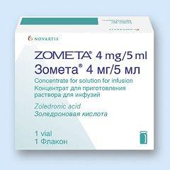 Oblik Zometa registraciju - koncentrat za otopinu za infuziju
