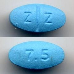 Zopiclone 7,5 mg tablete