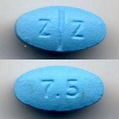 Таблетки Зопиклон 7,5 мг