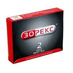 Капсулы Зорекс 250 мг