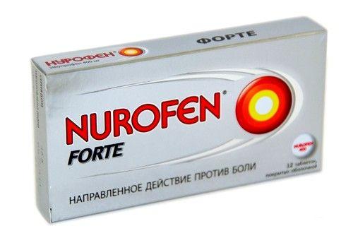 Нурофен при зубной боли